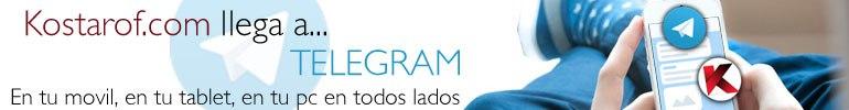 Canal Telegram de Kostarof.com