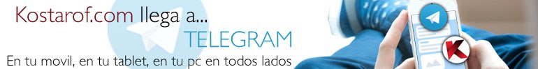 Únete al canal de Telegram de Kostarof